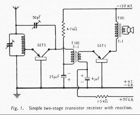 Terrific Two Transistor Radio Circuit Diagram Somurich Com Wiring Database Gramgelartorg